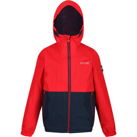 Regatta Haskel Jakke Børn, true red/navy